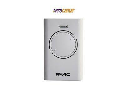FAAC RADIOCOMANDO TELECOMANDO ORIGINALE XT2 433 BIANCO COD. 6900985