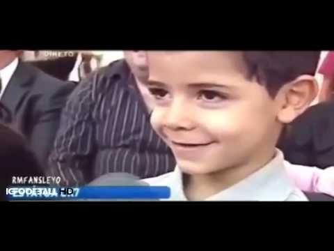 Hijo de Cristiano Ronaldo: «¿Quién es tu papá? El mejor del mundo» | jovideo - видео портал