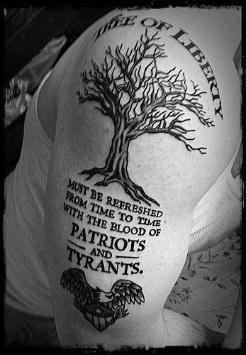 my skinny arm would be more of a bush of liberty or single branch.