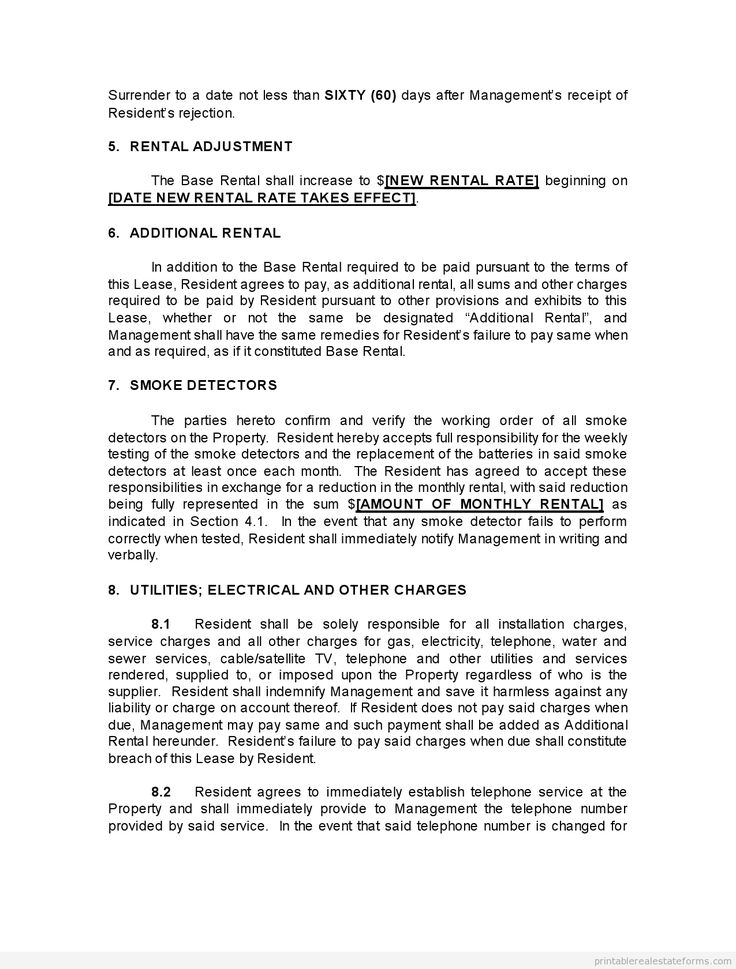 709 best Legal Forms For Free images on Pinterest Free printable - lease renewal form