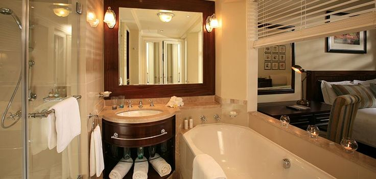 Chic and comfortable bathrooms