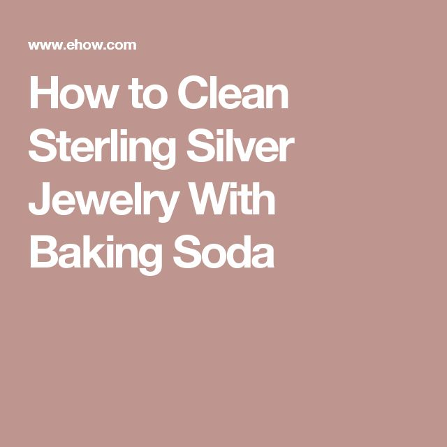 best 25 clean sterling silver ideas on pinterest sterling silver cleaner clean silver. Black Bedroom Furniture Sets. Home Design Ideas