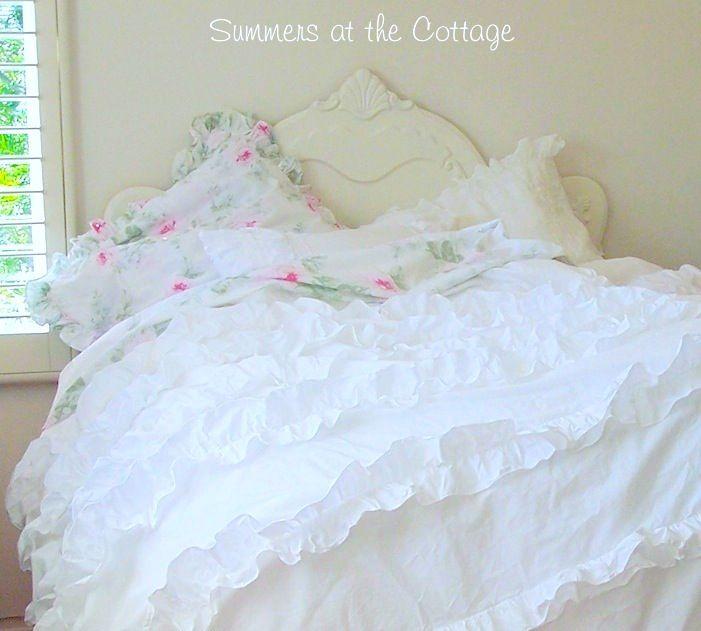 Shabby Cottage Chic Duvet