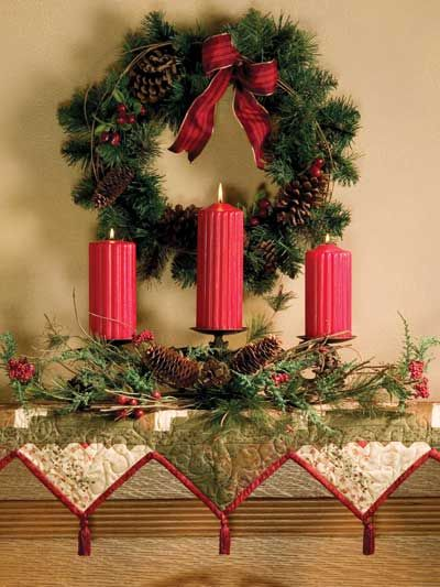 Pinterest Christmas Crafts For Mantels