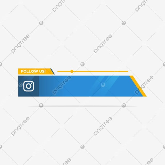 Instagram Follow Us Lower Third In Flat Style Symbol Us Internet Png And Vector With Transparent Background For Free Download Instagram Followers Lower Thirds Social Media Signs