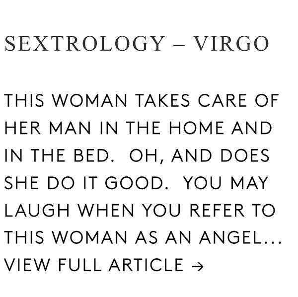 Sextrology horoscope