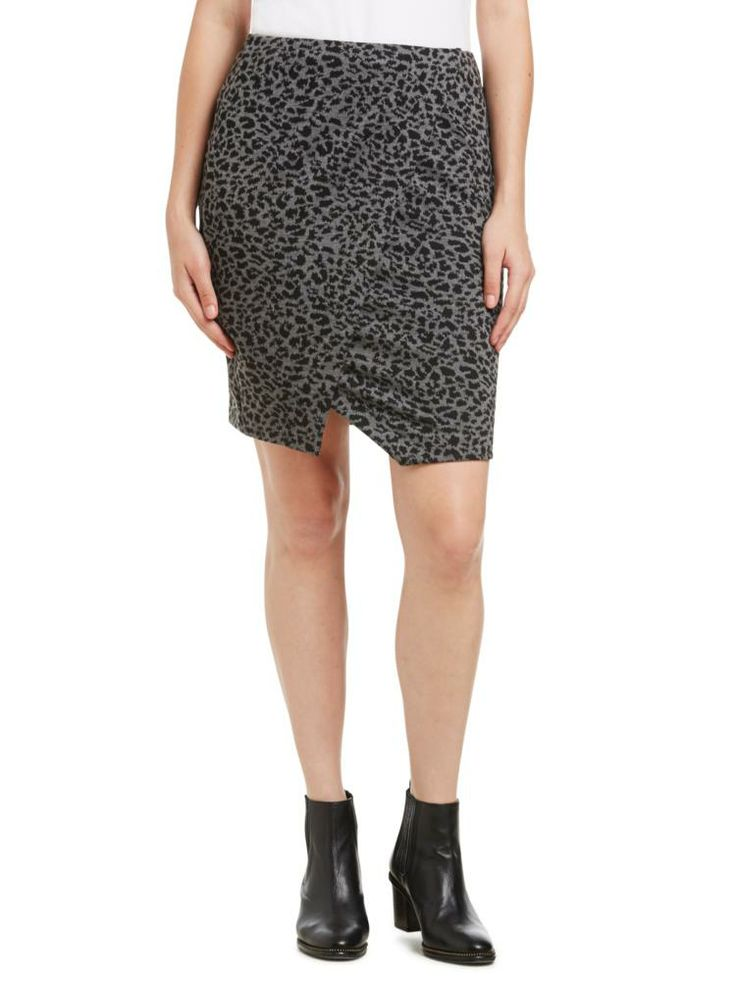 Sussan - New In - AW 14 Style Guide - Animal wrap skirt from sussan.com.au $79.95