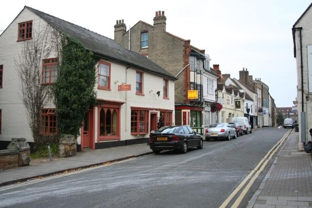 Huntingdon, England Hight Street