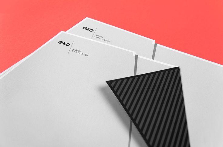 Papeterie EXO Création par Murmure  Impression par Opéra Print