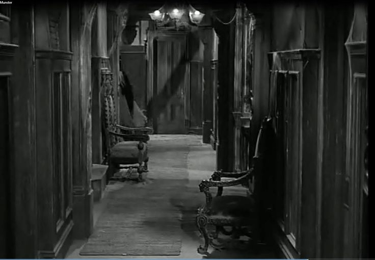Upstairs Hallway of The Munster's House