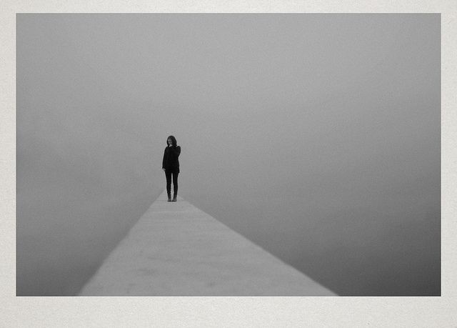 Dreamy Photos of Solitary Figures in Foggy Landscapes - My Modern Metropolis