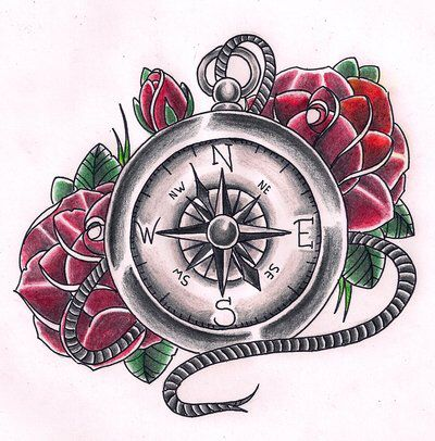 Image from http://www.tattoobite.com/wp-content/uploads/2013/11/compass-with-roses-tattoo-design.jpg.