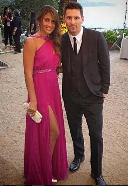 Boyfriend and girlfriend couple: Lionel Messi and Antonella Roccuzzo