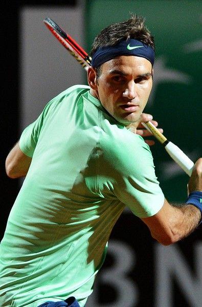 Roger Federer -Beautiful backhand