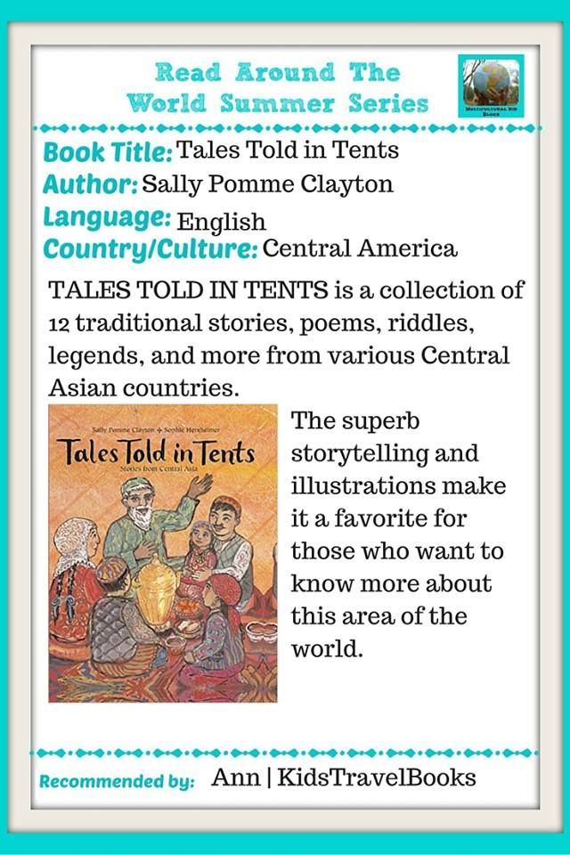 TALES TOLD AROUND THE WORLD was actually recommended to me from someone who is moving to Central Asia.
