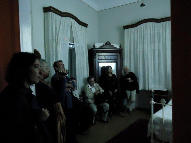 Lizzie Calligas-the projection room-Panaretos House, Potamos,Kythera