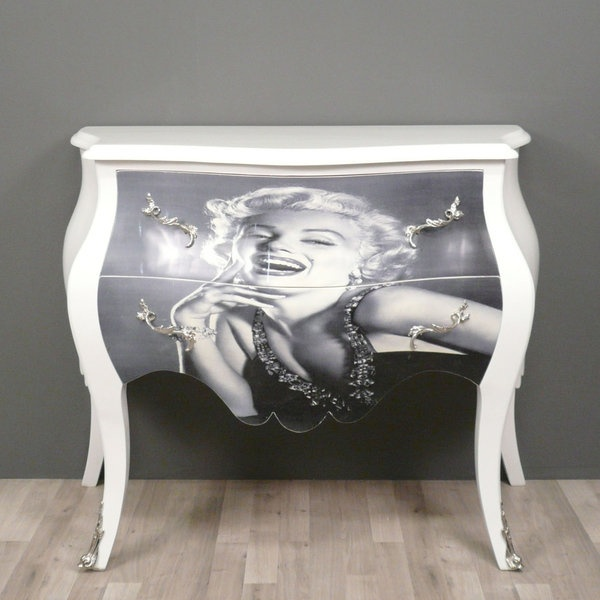 marilyn monroe commode baroque furniture decorating ideas pinterest baroque furniture and. Black Bedroom Furniture Sets. Home Design Ideas