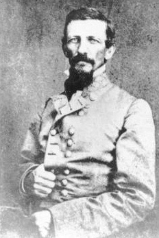 Alexander Peter Stewart, CSA (1821-1908) Tennessee. Lieutenant General (CSA). West Point Class of 1842 (Artillery)  Appointed a brigade commander in Leonidas Polk's corps, Stewart ultimately took command of that corps as a LTG when Polk was killed in June, 1864.  Served in that capacity until the end of the war.