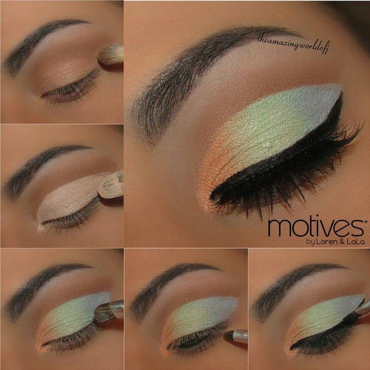 Makeup : Eyeshadow Tutorial Step by Step