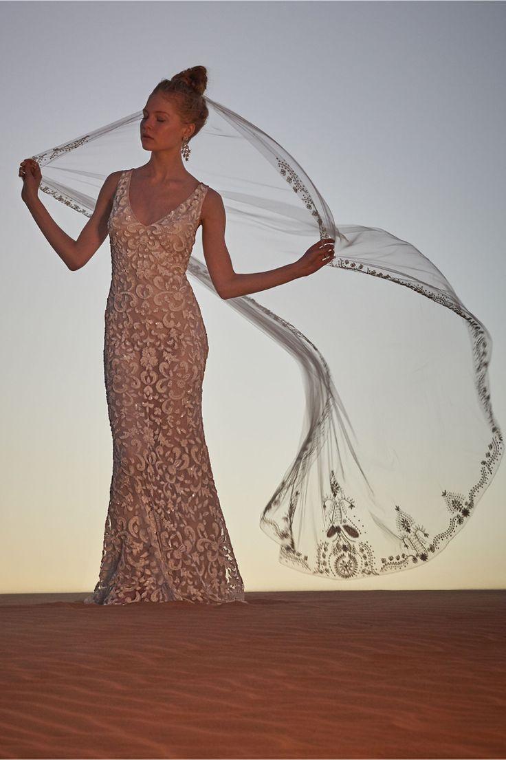 The jasmine veil. BHLDN.