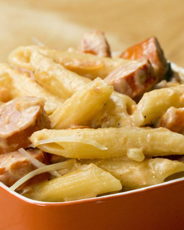 One-Pot Hot Dog Pasta