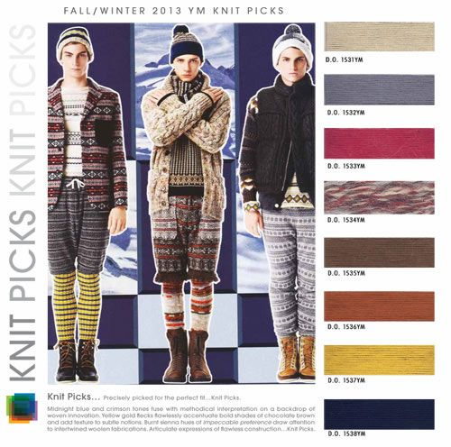 STYLE? Where art thou O style. Ouch! Men's Color Trends F/W 2013-14: