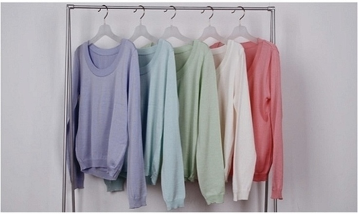Crewnecks. I want all of these: Pastel, Fashion, Style, Clothes, Colors Sweaters, Sweater Weather, Nice Colors, Sweaters Colors, Wear