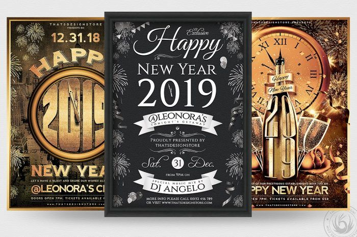 New Year Eve Flyer Templates Affordable Gold Classy Psd Designs New Year S Eve Flyer Flyer Template Flyer