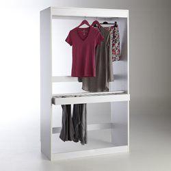 Module dressing, penderie + porte pantalons, Build PRIX MINI