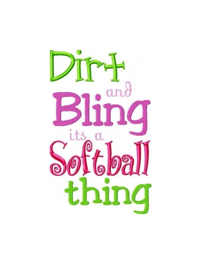 softball pictures and sayings