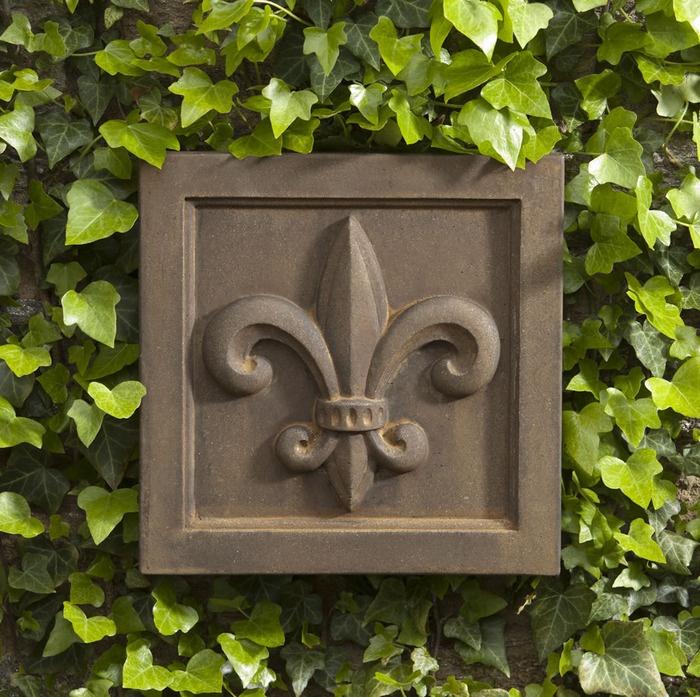 Fleur De Lis Wall Plaque, Only $59.99 @ Http://www.garden