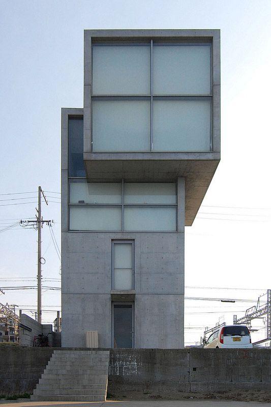 4×4の家 Ⅰ・Ⅱ 写真一覧/安藤忠雄