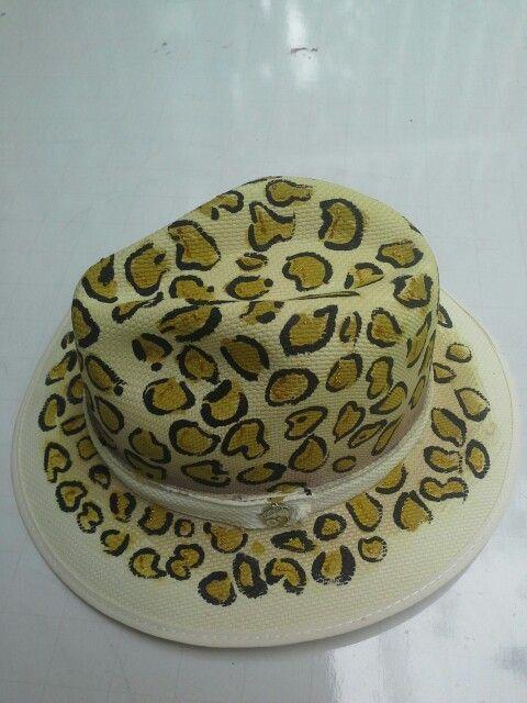 Sombreros pintado animal prin