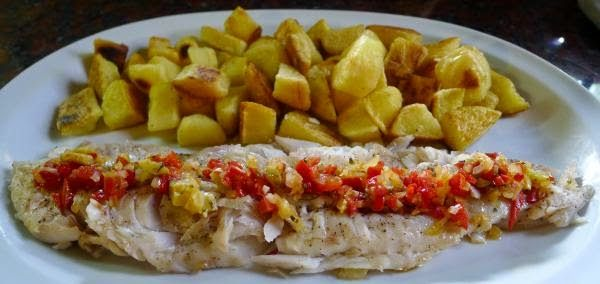 Recipe for fillet of fish baked with potatoes ~ FOOD AND DRINK RECIPES