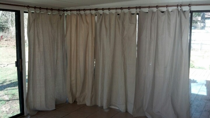 My Project Using Pvc Pipe As Curtain Rods And Painters
