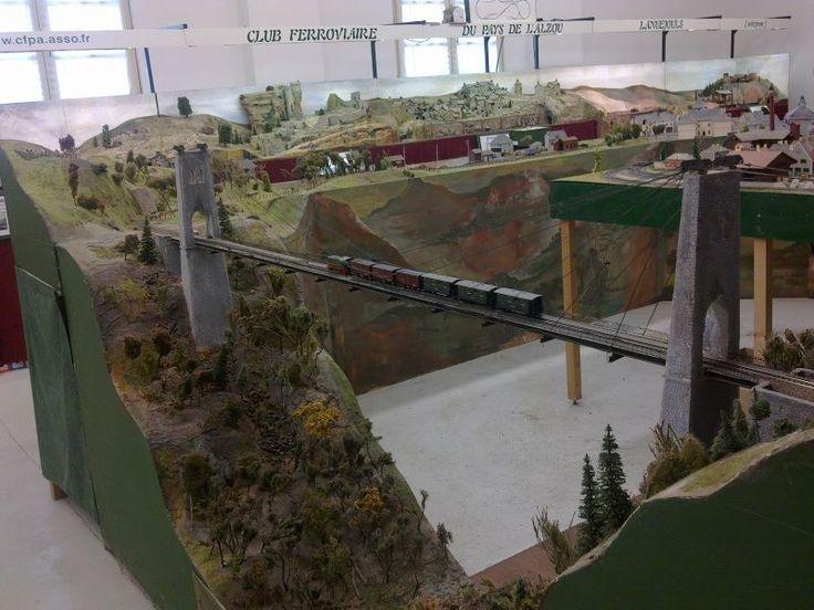 Le Club Ferroviaire du Pays de l'Alzou (Aveyron) - Les trains de Seb