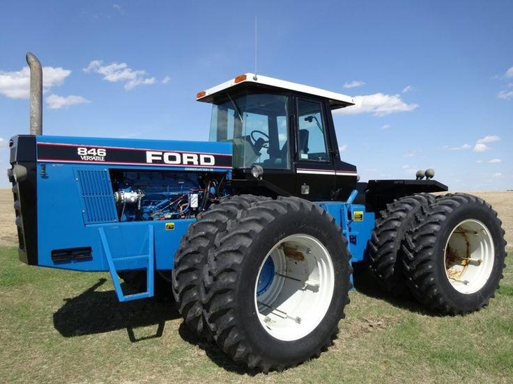 Big Ford Tractors : Ford versatile four wheel drive tractors