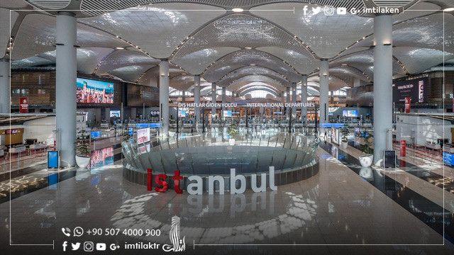 مطار اسطنبول الجديد يستقبل مليون مسافر في 9 أيام Istanbul Airport Istanbul New Airport Domestic Flights