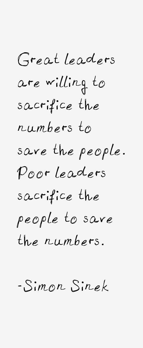 Leadership quote : simon sinek quotes  Google Search