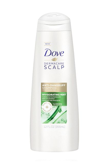 The brand's first foray into anti-dandruff territory, this shampoo is formulated with flake-fighting zinc and a crisp mint scent, so it feels slightly less medicinal than regular flake treatments.Dove DermaCare Scalp Invigorating Shampoo, $4.99, available at drugstores in January 2017. #refinery29 http://www.refinery29.com/2016/12/133648/drugstore-beauty-product-innovations-2017#slide-8