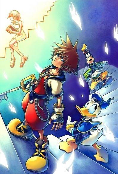 Kingdom Hearts: Chain of Memories Concept Art