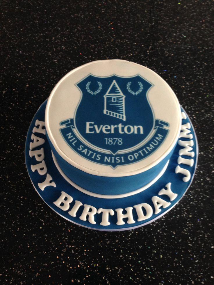 Everton birthday cake  Cake ideas  Pinterest