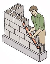 Laying Concrete Blocks - Home Improvement Advice and Ideas, Lawn Advice, Garden Projects | Ace Hardware