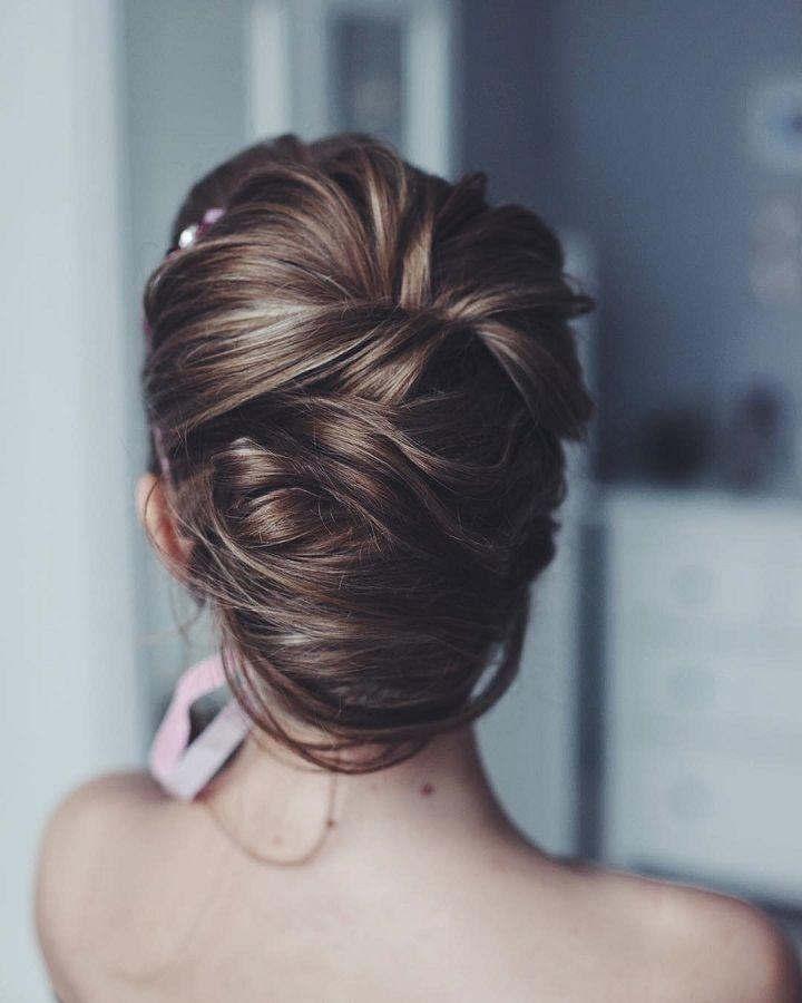 romantic wedding hairstyles   fabmood.com #bridalhair #weddinghairstyle #weddinghairstyles #updobraids