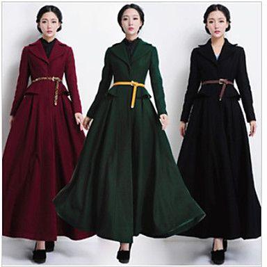 12 best Long Coats for Women images on Pinterest   Long coats ...