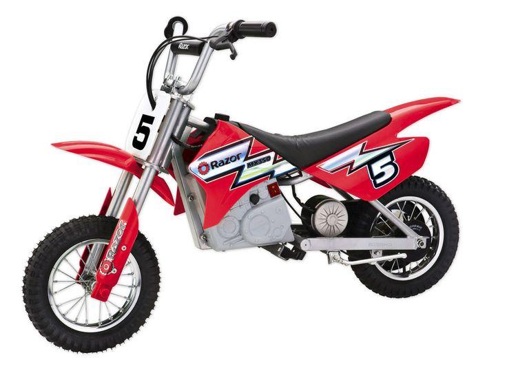 Razor MX350 Dirt Rocket 24V Electric Motorcycle Bike - Red   15128095  #Razor