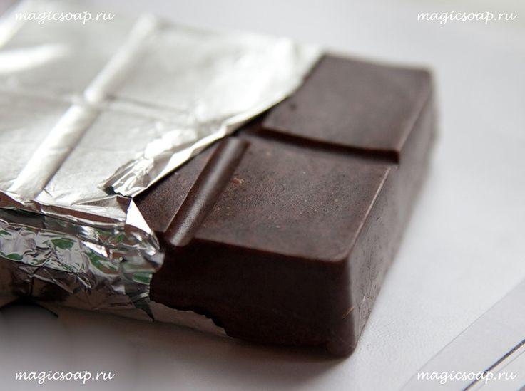 шоколадно-кофейное мыло-скраб