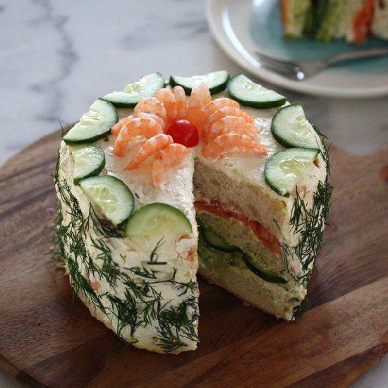 The Smorgastata, the Swedish savoury cake!