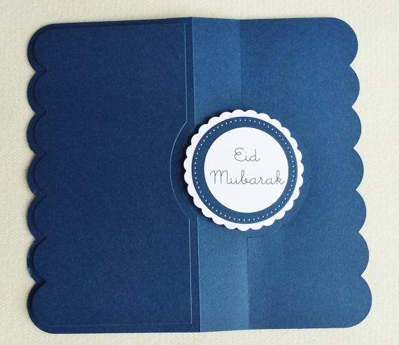 Eid Mubarak Card Flip It Card Ramadan by PunchedwithLoveJuhi
