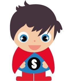 Strijkapplicatie Superman Jojojanneke
